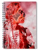 Indian Red Spiral Notebook