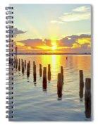 Indian River Sunrise Spiral Notebook