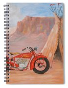 Indian Scout Spiral Notebook
