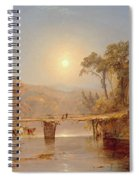 Indian Summer On The Delaware River Spiral Notebook