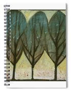 Indian Summer Snow Spiral Notebook