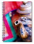 Indian Tea Kettle Spiral Notebook