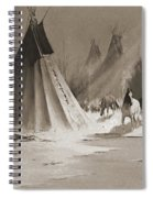 Indian Tee Pee Spiral Notebook