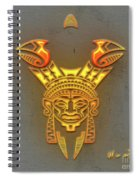 Indian Totem Spiral Notebook
