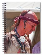 Indian Viii  6740 Spiral Notebook