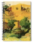 Indian Village 1917 Spiral Notebook