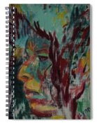 Indian Woman Spiral Notebook