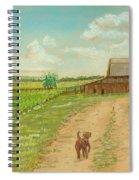 Indiana Farm Spiral Notebook