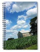 Indiana Farm Scene Spiral Notebook