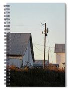 Indiana Farmhouse  Spiral Notebook