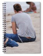 Indiana Girl Spiral Notebook
