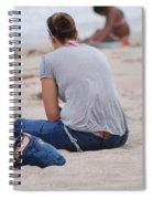 Indiana Girl Spiral Notebook