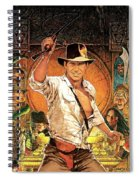 Indiana Jones Raiders Of The Lost Ark 1981 Spiral Notebook