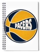 Indiana Pacers Retro Shirt Spiral Notebook