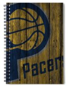 Indiana Pacers Wood Fence Spiral Notebook