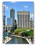 Indianapolis Canal Spiral Notebook