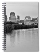 Indianapolis Charcoal Panoramic Spiral Notebook