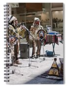 Indians In Greece Spiral Notebook