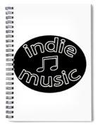 Indie Music Spiral Notebook