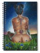 Indigo Blue Spiral Notebook