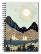 Indigo Forest Spiral Notebook