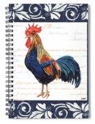 Indigo Rooster 2 Spiral Notebook