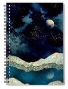 Indigo Sky Spiral Notebook