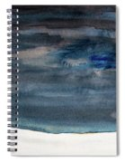 Indigo Winter Night Spiral Notebook