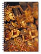 Indonesian Dolls Spiral Notebook
