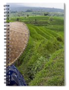 Indonesian Rice Farmer Spiral Notebook