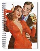Indulge Me Spiral Notebook