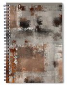 Industrial Abstract - 01t02 Spiral Notebook