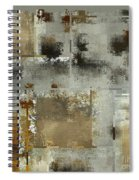 Industrial Abstract - 24t Spiral Notebook