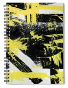 Industrial Abstract Painting I Spiral Notebook