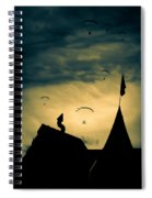 Industrial Carnival Spiral Notebook