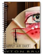 Industrial Ceiling Dreams Spiral Notebook