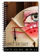 Industrial Ceiling Dreams Spiral Notebook