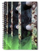 Industrial Disease Spiral Notebook