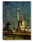 Industrial Farming In Texas Spiral Notebook