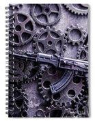 Industrial Firearms  Spiral Notebook