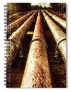 Industrial Hydro Architecture Spiral Notebook