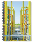 Industrial Piping Spiral Notebook