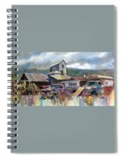 Industrial Recreation Park Spiral Notebook