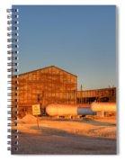 Industrial Site 1 Spiral Notebook