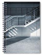Industrial Stairway Spiral Notebook