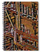 Industrial Storage And Distribution System Spiral Notebook