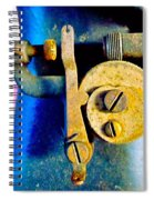 Industry In Color Spiral Notebook