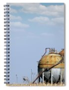 Industry Tank For Gas And Liquid Spiral Notebook