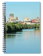 Indy White River View Spiral Notebook