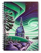 Church Of The Infant Jesus, Longlac, Ontario Spiral Notebook